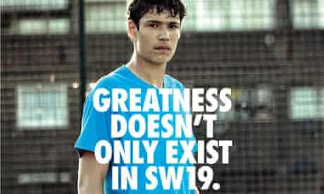 Nike ad running during Olympics 2012