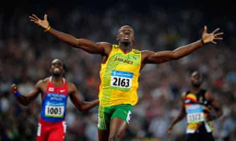 Usain Bolt wins men's 200m final in Beijing Olympics