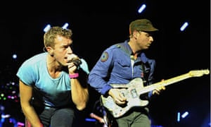 Coldplay in concert, Nice, France 24 May 2012