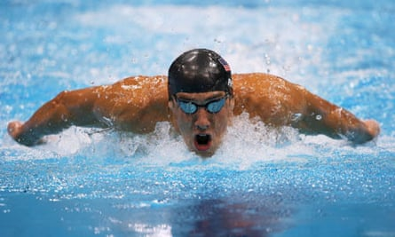 Michael Phelps in Men's 200m Butterfly Olympic Games