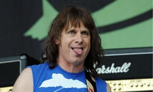 Christopher Guest in Spinal Tap at Glastonbury 2009