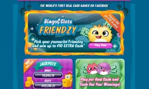 Facebook's Bingo & Slots Friendzy