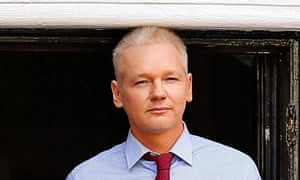 Julian Assange speaks from Ecuador's embassy in London