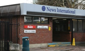 News International building in Wapping