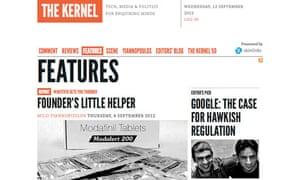 Screengrab The Kernel
