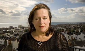 Julie Burchill in Brighton, Britain - 26 Sep 2007