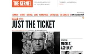 The Kernel screengrab