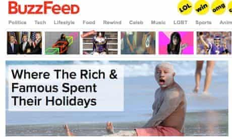 Buzzfeed screen shot