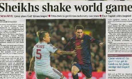 The Times Qatar Dream Football League article