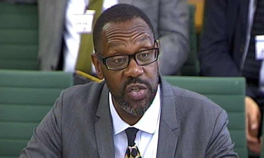 Lenny Henry gives evidence to DCMS