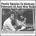 Doctored photo purporting to show US presidential candidate John Kerry and Jane Fonda