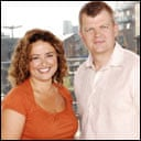 The One Show - Nadia Sawalha and Adrian Chiles