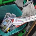 Waste copies of the London Paper and London Lite
