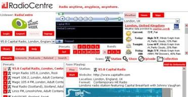 Radio Centre Player