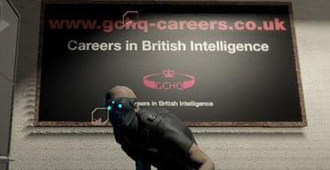 GCHQ ads in Tom Clancy's Splinter Cell Double Agent