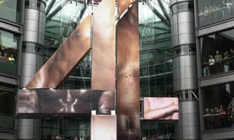 Channel 4 statue