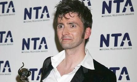 David Tennant at National Television Awards 2007
