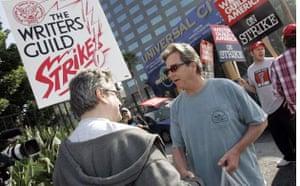 Writers Guild of America strike, Beau Bridges