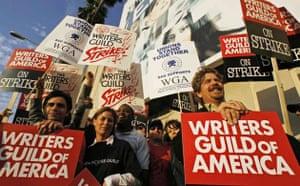 Writers Guild of America strike, ER cast