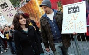 Writers Guild of America strike, Tina Fey