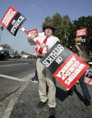 Writers Guild of America strike, Chris Marcil