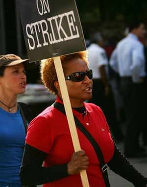 Writers Guild of America strike, Wanda Sykes