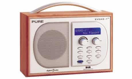 Digital radio stock shot