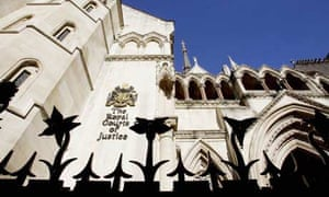 Royal Courts of Justice - stock shot