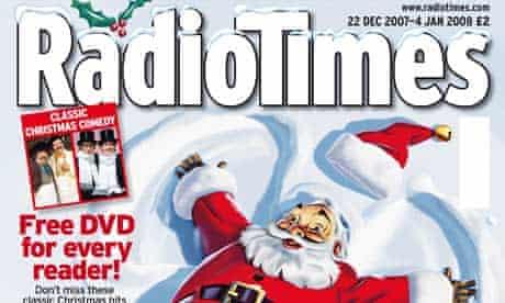 Radio Times Christmas edition 2007