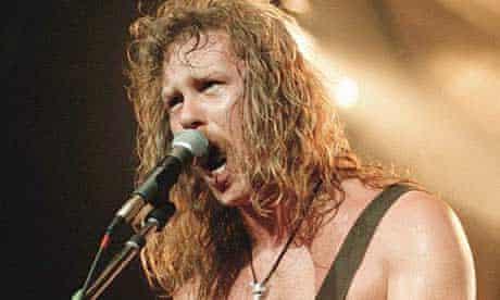 Metallica frontman James Hetfield