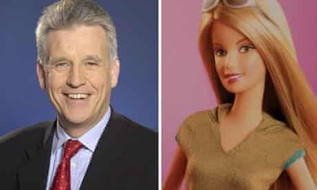 Nick Owen and Barbie
