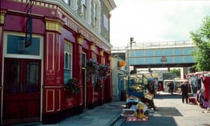 EastEnders set - Albert Square