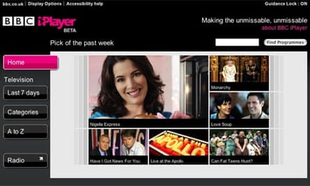 BBC iPlayer - beta version