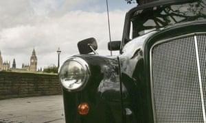 Black cab (London taxi) stock pic