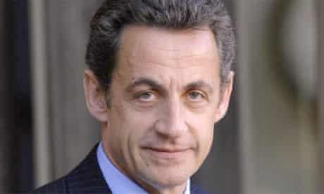 Nicolas Sarkozy, the French president. Photograph: Eric Feferberg/AFP