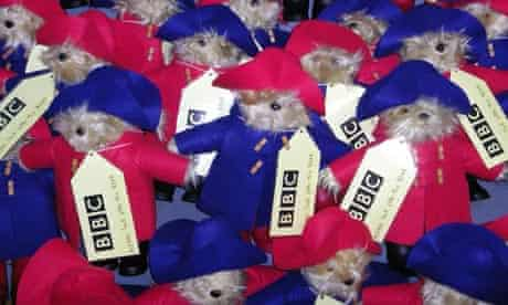 Paddington Bears hidden around the country by the BBC