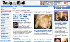 Daily Mail website - dailymail.co.uk