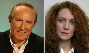 Andrew Neil and Rebekah Wade - composite photo