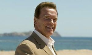 Arnold Schwarzenegger. Photograph: Guillermo Arias/AP