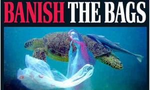Daily Mail 'Banish the bags' splash