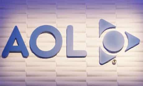 The AOL logo. Photograph: AP/Paul Sakuma