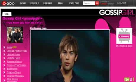 ITV on Bebo - Gossip Girl