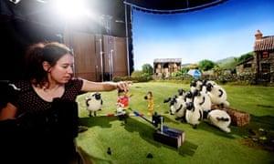 Shaun The Sheep - on-set photo