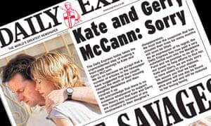 Daily Express McCann apology