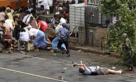 Japanese journalist Kenji Nagai wounded in Yangon