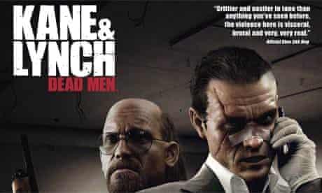 Detail of Kane & Lynch Dead Men advert: banned by ASA