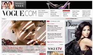 Vogue website relaunch
