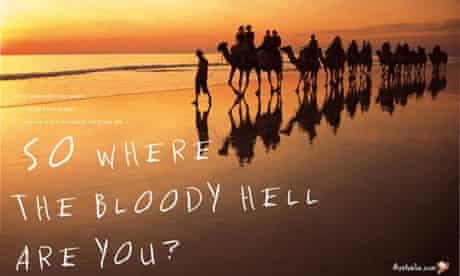 Tourism Australia 'Where the bloody hell are you' ads
