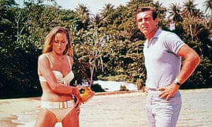 Dr No - Ursula Andress with Sean Connery as James Bond