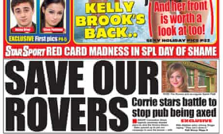Daily Star - 'Save Our Rovers' campaign